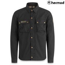 Belstaff Mansion Armoured Motorbike Motorcycle Riding Shirt - Black