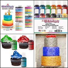 Cake Fondant Decorating Food Airbrush Coloring Kit for Birthday Set Of 12 Kosher