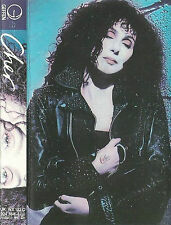 Cher ‎Cher CASSETTE ALBUM Geffen Records Electronic Rock Pop 1987 10 track