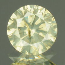 0.50 cts. CERTIFIED Round I1 Light Yellow Gray Color Loose Natural Diamond 18151