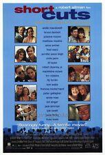 SHORT CUTS Movie POSTER 27x40 B Annie Ross Lori Singer Jennifer Jason Leigh Tim