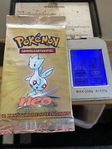 Pokémon Booster Neo Destiny Art Work Togetic OVP Heavy!!!! TCG Rare