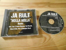 CD Pop Ja Rule - Holla Holla (2 Song) Promo MURDER INC / DEF JAM jc