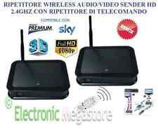 Ripetitore Trasmettitore HDMI WIFI Wireless Extender Audio Video HD 2,4GHz