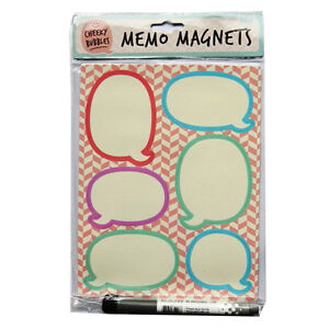Stylish Magnetic Memo Boards (2 Designs) - Cheeky Memo or Pirates