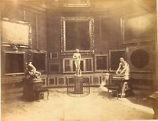 Italy - Fratelli Alinari c 1855-60. Galleria Uffizi , statues. c 10,4 x 13,4.
