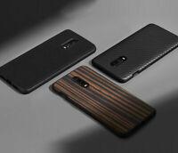 For OnePlus 7 Pro 6T 5T Shockproof Hybrid Nylon Carbon Fiber Matte Case Cover d6