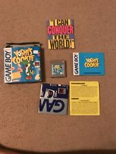 Yoshi's Cookie (Nintendo Game Boy, 1993) with metroid 2 poster