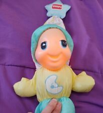 1998 Playskool Glow Worm #5770 With a moon on the belly very cute works great