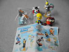 Looney Tunes Kinder Surprise 2004 Part English Set Tweety Sylvester Lola Taz