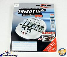 Ansmann Energy 16 Plus Bundle, Charger and Batteries, 2 x 9V and 4 x AA!! #29890