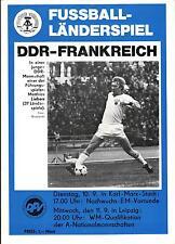 WM-Qualifikation 11.09.1985 DDR - Frankreich in Leipzig
