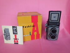 Professional Camera Twin Lens Yashica  Model A Vintage NIB Manual 120 film