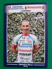 CYCLISME carte cycliste EMANUELE SELLA équipe ANDRONI GIOCATTOLI Venezuela 2012