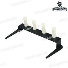 Tattoo supplies 4 Tattoo guns Steel Holder Machine Stand Kit Supply WVS135