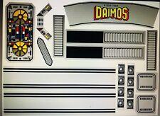 Popy Daimos Jumbo Machinder Shogun Warrior Decals - Vinyl