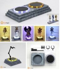 Kids Logic Cosmos Base Led Light for Saint Seiya Figures Purple/Yellow