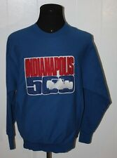 Indianapolis 500 Racing Sewn Patch Pullover Crewneck Sweatshirt M