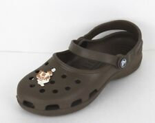 Crocs women's clogs sandals rubber brown size 7
