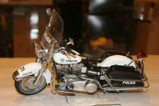 New ListingFranklin Mint Harley-Davidson Police Bike Edition Motorcycle 1:10 With Tag