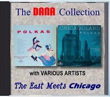 Johnnie, Eddie, Steve & Various Artists - East Meets Chicago - POLKA CD