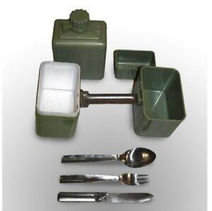 Yugoslavian Army Mess Tin Cutlery Set Water Bottle KFS Military Surplus Camping