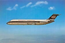 Yugoslave Airlines Douglas DC-9  Airplane Postcard