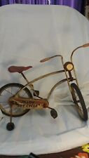 Vintage Mobo Tot Cycle Pedal Bike  1950's All Original