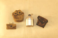"""DiD """"Sam"""" WW2 US Army Captain M2 & Carlisle Pouches + Canteen w/ Cover 1/6 scale"""