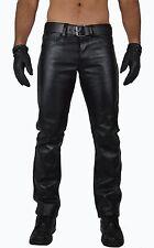 AW-701,awanstar Biker Lederhose leather Pants,Motorrad leder hose,lederjeans
