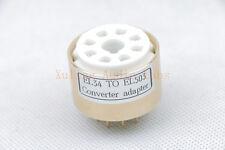 1pc  EL34 6L6 TO EL503 Tube converter adapter(CNC Copper body)