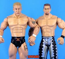 Christian & Mr Kennedy WWE Jakks Ruthless Aggression Wrestling Figure Lot_s28