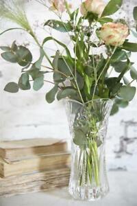 Jeanne D` Àrc Living Glass Vase Flower Vase 7/8in Glass Vintage Shabby Chic