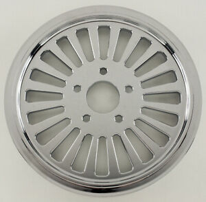 """FAT SPOKE 70T TOOTH PULLEY 1-1/8"""" HARLEY SOFTAIL FXST NIGHT TRAIN DEUCE SPRINGER"""