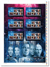 2017 Star Trek TM: Year 2 - Uncut Press Sheet- Mintage 5000