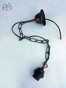 Chain Wrought Iron Lamp Holders Replacement Hanging Chandelier