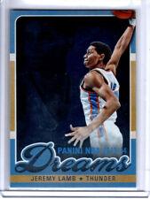 Panini NBA 2013-14 Jeremy Lamb #20 Dreams Insert Card Asia Exclusive