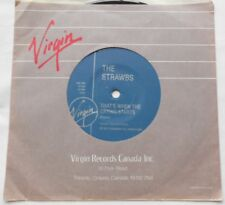 THE STRAWBS That's when the crying starts Ex to NM- CANADA 1987 VIRGIN 45 Vinyl