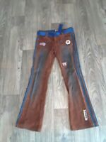 FIRST TEAM WOMENS MOTORCYCLE RIDING RACING PANTS CC SIZE 9