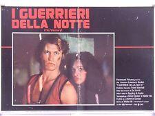 I GUERRIERI DELLA NOTTE azione thriller di Walter Hill fotobusta 1979