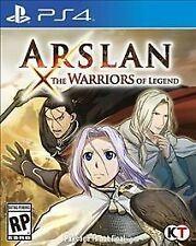 Arslan: The Warriors of Legend (Sony PlayStation 4, 2016)  *Factory Sealed*