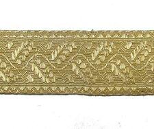 Treccia Oro Chiaro Mylar Foglia Di Quercia 70 mm Per gradi Finiture In Pizzo Da