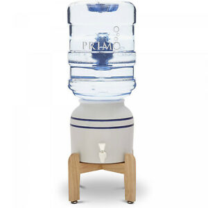 Countertop Water Dispenser Ceramic Crock Stand 5 Gallon Top Load Home Cooler New