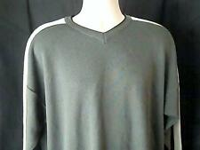 XTREM GEAR  Mens XL Green Black White Sweater 100% Acrylic