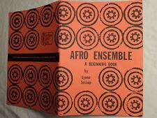 AFRO ENSEMBLE by JESSUP/DRUMS DRUMMING/AKISOMBO/ANANSI/SUNSUM/AFRICA/RARE 1975