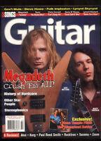 Guitar Magazine October 1999 Megadeth Stone Temple Pilots Steve Howe GNR MBX79