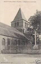 Carte postale ancienne Beauvoir sur Mer