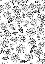 Flower & Leaf 107775 Embossing Folder for Cardmaking, Scrapbooking, etc