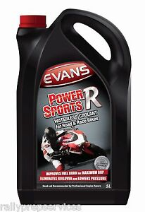 Evans Waterless Coolant Powersports R  - 5 Litres  Motor Cycles / Motor Bikes