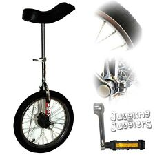"Indy 'Trainer' 16"" Unicycle (Chrome)"